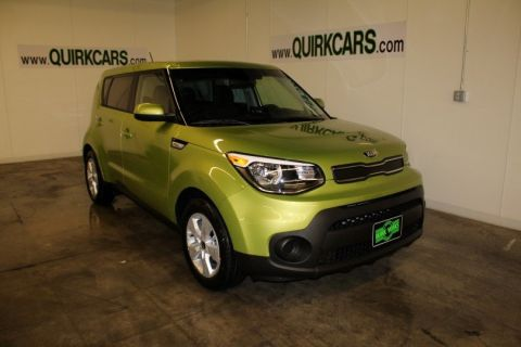 New 2018 Kia Soul Base FWD Hatchback